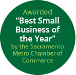 Awarded Best Small Business of the Year by the Sacramento Hispanic Chamber of Commerce